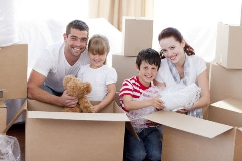 Families Can Make Relocating Easy with Moving Companies and These Tips