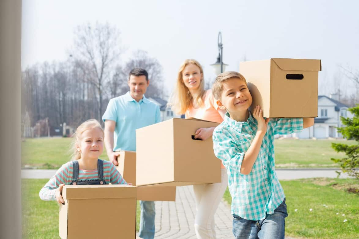 The Importance of Hiring Movers and Other Tips When Homes with Kids